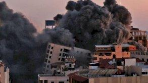 صواريخ حماس تطال تل أبيب وقطاع غزة تحت النار