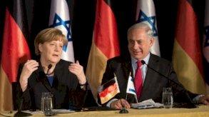 ميركل تؤكد تضامنها مع إسرائيل