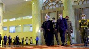 روحاني يدعو الكاظمي لمحاسبة حارقي قنصلية بلاده بكربلاء