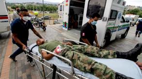36 جريحاً في هجوم بسيارة مفخخة في قاعدة عسكرية في كولومبيا