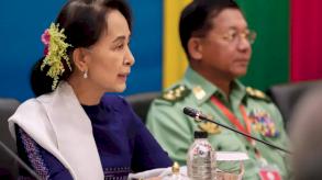 بدء أول محاكمة بحق أونغ سان سو تشي في بورما