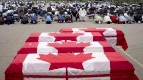 تشييع عائلة مسلمة قتلت في عملية دهس في كندا