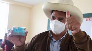 بيدرو كاستيّو في صدارة الانتخابات الرئاسية البيروفية