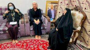 دعم أممي لوالدة الناشط العراقي الوزني للكشف عن قتلته