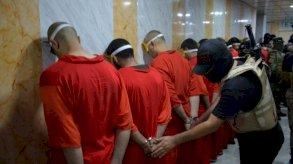 بغداد : أحكام جماعية بالاعدام لعناصر في داعش