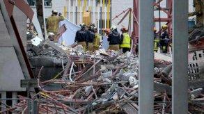 خمسة قتلى بانهيار ورشة بناء مدرسة في بلجيكا