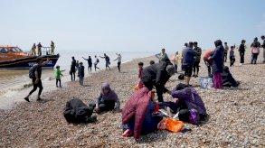بريطانيا: وصول 450 مهاجرًا الإثنين