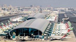 تصادم طفيف بين طائرتين في مطار دبي