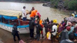 أمطار الهند: 76 قتيلا على الأقل وعشرات المفقودين