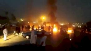 طهران: تظاهرات ضد النظام وشعارات ضد الخامنئي