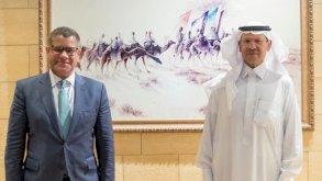 رئيس قمة المناخ يجري محادثات في الرياض