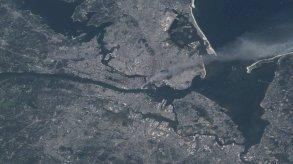 من الفضاء الخارجي.. هذا ما حصل في 11 سبتمبر 2001!