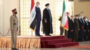 الكاظمي في طهران لتنسيق المواقف حول أمن المنطقة