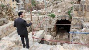 رفات جنود صليبيين في مقبرتين بصيدا جنوب لبنان
