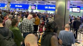 فوضى بشرية تعم مطارات بريطانيا