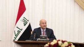 الرئيس العراقي يحذر من خطر وجودي يهدد مستقبل بلاده