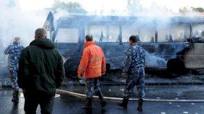 13 قتيلاً في تفجير استهدف حافلة عسكرية في دمشق