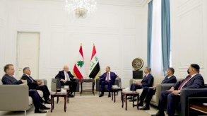 الكاظمي وميقاتي بحثا تعزيز التعاون الأمني والاقتصادي المشترك