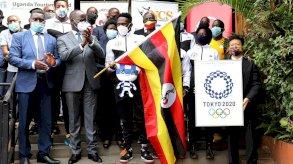 فحص إيجابي لعضو في وفد المنتخب الاولمبي الأوغندي