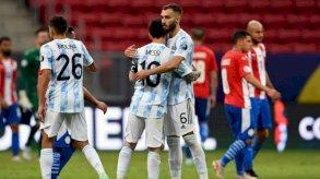 الأرجنتين وتشيلي إلى ربع نهائي كوبا أميركا