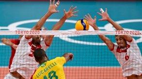 أولمبياد طوكيو - طائرة: خسارة تونس أمام البرازيل