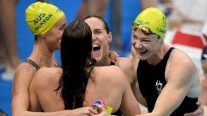 أولمبياد طوكيو - سباحة: سيدات أستراليا يحطمن رقمًا عالميًا