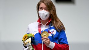 أولمبياد طوكيو - رماية: باتساراشكينا تمنح اللجنة الروسية أول ذهبية