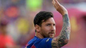 ميسي يغادر برشلونة