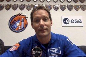 توما بيسكيه: محطة الفضاء الدولية