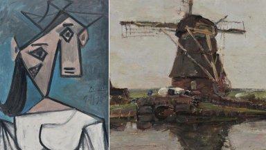 العثور على لوحتين لبيكاسو وموندريان سُرقتا من متحف يوناني