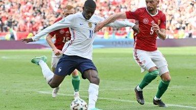 سيغيب المهاجم الفرنسي عثمان ديمبيليه عن باقي مباريات كأس أوروبا 2020 لكرة القدم، بعد إصابته خلال مواجهة المجر الأخيرة
