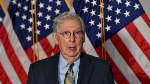 أصر زعيم الجمهوريين في مجلس الشيوخ ميتش مكونيل على أنه سيكون هناك انتقال منظم للسلطة