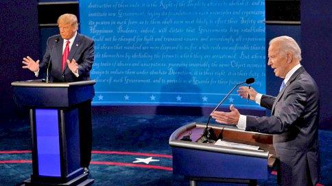 خمسة صدامات بين ترامب وبايدن في المناظرة الرئاسية الأخيرة