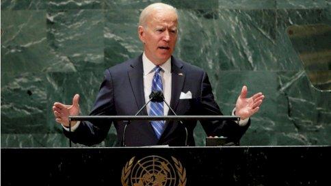 Reuters تعهد بايدن أن تضطلع الولايات المتحدة بدور قيادي