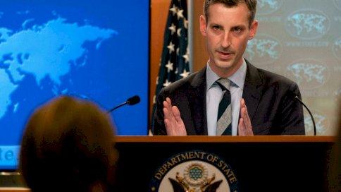 المتحدث باسم وزارة الخارجية الأميركية نيد برايس في 3 شباط/فبراير 2021 في واشنطن