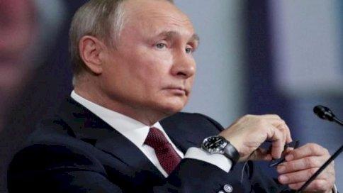 صورة من الأرشيف للرئيس الروسي فلاديمير بوتين