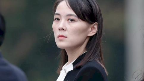 شقيقة الزعيم الكوري الشمالي كيم يو جونغ في هانوي