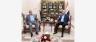 الرئيس صالح مجتمعا مع هادي العامري