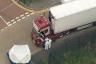 صور للشاحنة تناقلتها مختلف وسائل الإعلام البريطانية
