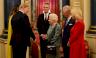 الملكة اليزابيث الثانية في استقبال ترمب وزوجته