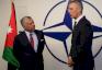 عاهل الاردن وأمين عام الناتو
