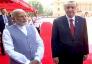 لقاء سابق بين رئيس وزراء الهند وأردوغان