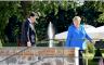المستشارة الألمانية أنغيلا ميركل ورئيس الوزراء الإيطالي جوزيبي كونتي في برلين