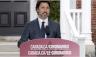 رئيس الوزراء الكندي جاستن ترودو يلقي خطاباً في أوتاوا