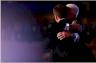 جو بايدن مرشح الحزب الديمقراطي مع ابنه بو
